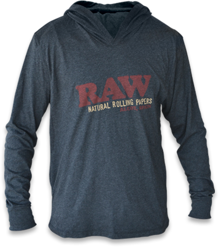 RAW Lightweight Hoodie Dark Grey