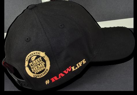 RAW Poker Hat - Side