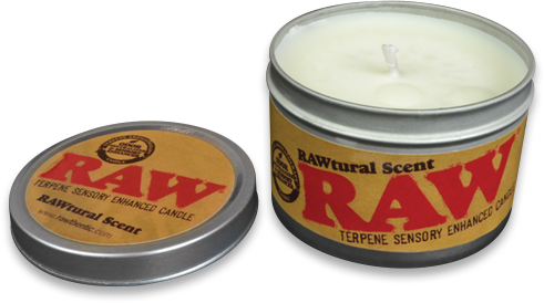 RAW Terpene Candle - Open