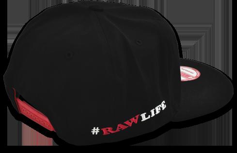 RAW Snapback Hat - Back