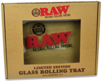 RAW Glass Rolling Tray Large Box
