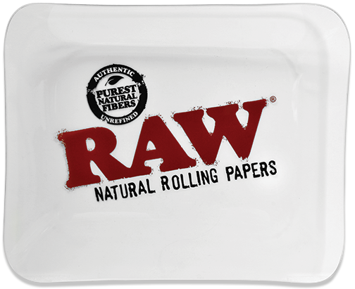 RAW Glass Rolling Tray Large