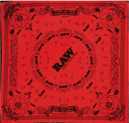 RAW Red Bandana