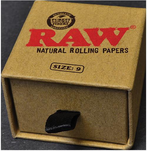 Size 8 RAW Gold Smoker Ring
