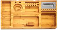 RAW Triple Flip Bamboo Rolling Tray