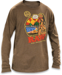 RAWlife Brazil Long Sleeve Tee