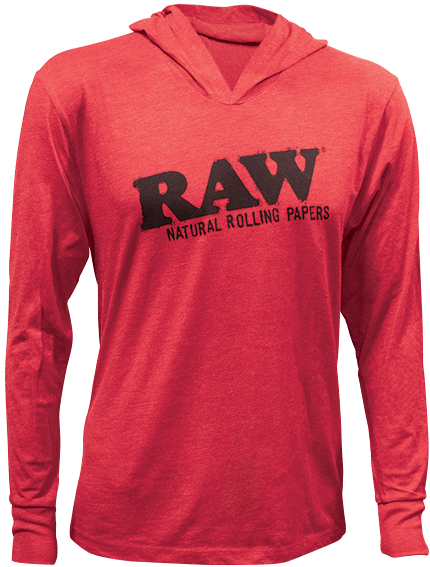 RAW Lightweight Hoodie Red