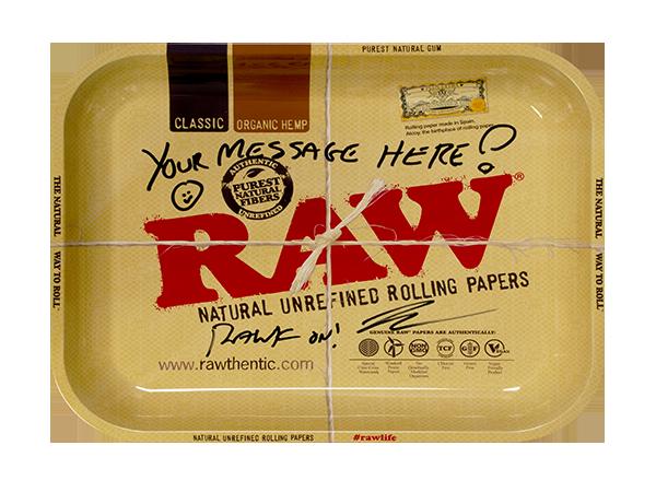 RAW Personalized Tray - Classic