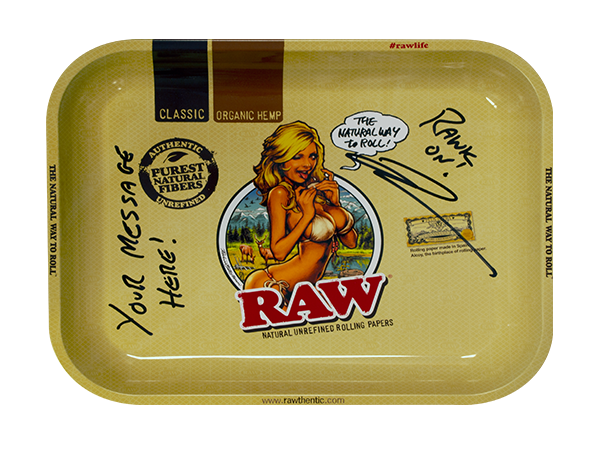 RAW Personalized Tray - Girl