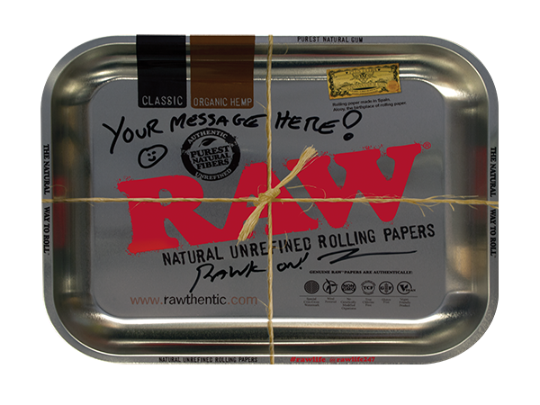 RAW Personalized Tray - Metallic