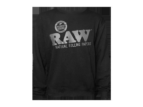 RAW-Crewneck-Black