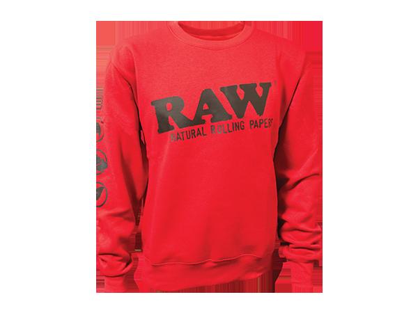RAW-Crewneck-Red